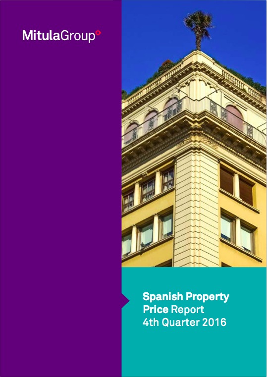 Spanish property price report - Q4 2016