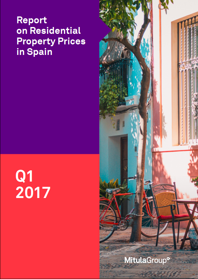Spanish property price report - Q1 2017